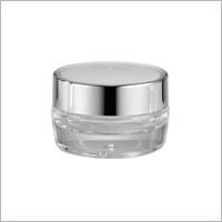 Acrylic Round Cream Jar, 30ml - HD-30 Metal Planet