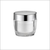 Acrylic Round Cream Jar, 50ml - HD-50 Metal Planet