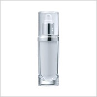 Acrylic Oval Lotion Bottle, 60ml - VB-60 Romantic Jewel