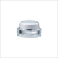 Acrylic Oval Cream Jar, 10ml - VD-10 Romantic Jewel