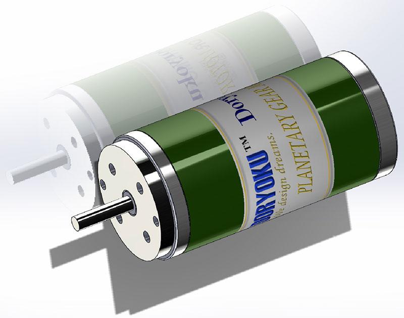 Dc Brushed Motor Geared Motor Manufacturers Doryoku Tech
