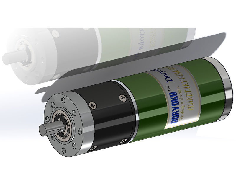 Dc brushed strong motor with planetary gear reduction dc for Dc planetary gear motor