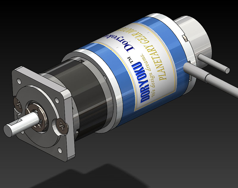 Dc brushless gear motors dc gear motor manufacturer for Geared brushless dc motor