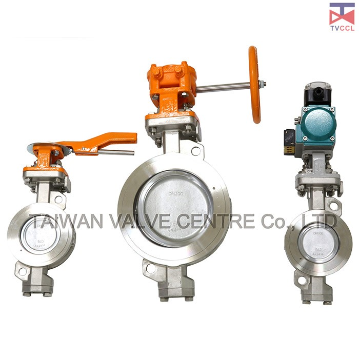Butterfly valves are simple and compact construction