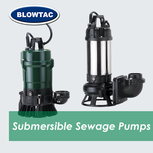 Bombas de aguas residuales sumergibles BLOWTAC