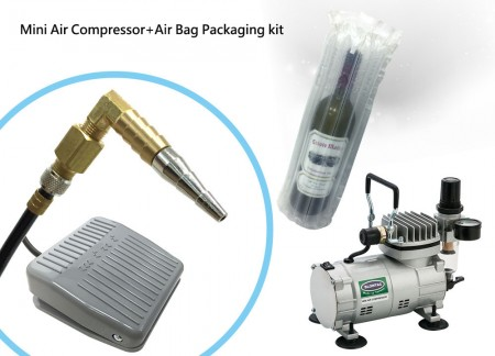 Mini Air Compressor for Air bag packaging