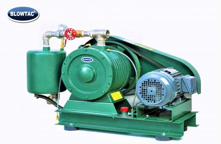Soplador de gas tipo paleta rotativa