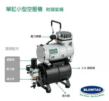 TC20T選擇配件圖:濾水器/ 壓力表/ 調壓閥