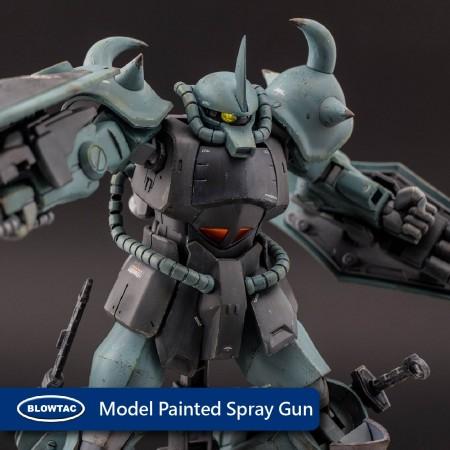 Pistola de pulverización pintada modelo