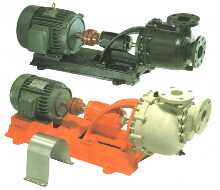 CONNECTING AND SELF-PRIMING CHEMICAL PUMP