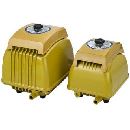 Linear air pumps are of high efficiency, low energy consumption and perform with very low operation noise under 50 dB(A)
