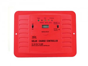 30A Solar Charge Controller 12-24V selectable