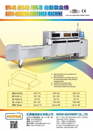 Auto-loading Cartoner Machine
