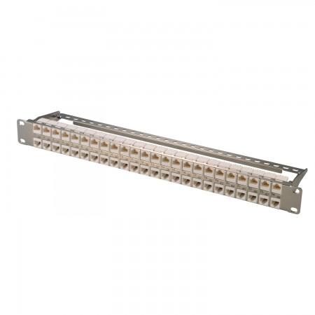 1U 48-Port High Desity STP Modular Patch Panel - 1U 48-Port High Desity STP Modular Patch Panel