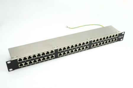 1U 48-Port High Desity STP Modular Patch Panel - 1U 48-Port High Desity STP Modular Patch Panel