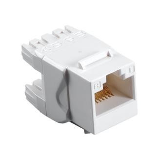 Cat 5e 180° UTP Punchdown Keystone Jack