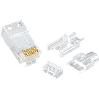 Multi-Piece Type RJ45 Plug for Cat 6 UTP Cable - Multi-Piece Type RJ45 Plug for Cat 6 UTP Cable