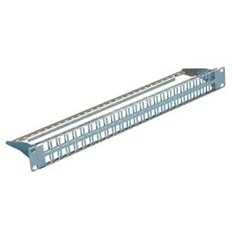 1U 48-Port High Density STP/UTP Snap-In Type Patch Panel