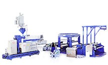 Pengambilan PE / PP Embossed Film Making Machine (Seri CPE)