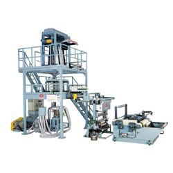 High Speed PE Tubular Film Blowing Line HDAS-55-800-1 (W/IN Line Printer)
