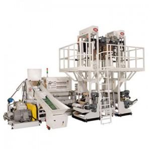Film to Film Tubular Film Blowing Line HDN-65-650T