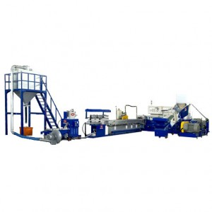 Machine de granulation de PET