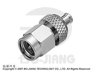 Adaptor SMA PLUG TO MCX PLUG - Adaptor SMA Plug to MCX Plug