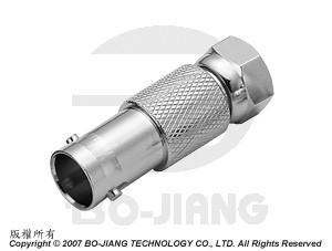 Adaptor BNC JACK TO F PLUG - Adaptor BNC Jack to F Plug
