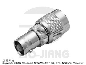 Adaptor BNC JACK TO TNC PLUG - Adaptor BNC Jack to TNC Plug