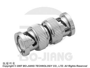 BNC PLUG TO PLUG ADAPTOR - BNC Plug to Plug Adaptor