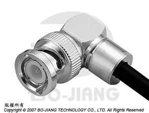BNC R/A CLAMP PLUG - BNC R/A Clamp Plug