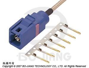 FAKRA CRIMP PLUG / STAMPED CENTER CONTACT - Fakra Crimp Plug / Stamped Center Contact