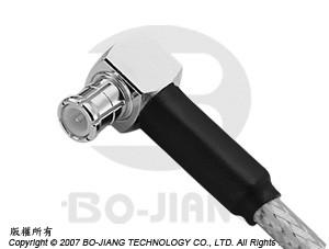 MCX R/A CRIMP PLUG - MCX R/A Crimp Plug