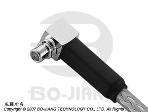 MMCX R/A CRIMP PLUG/JACK - MMCX R/A Crimp Plug/Jack