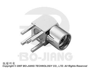 MMCX R/A PCB MOUNT JACK - MMCX R/A PCB Mount Jack