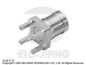 SMB PCB MOUNT PLUG - SMB PCB Mount Plug