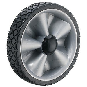 170mm Solid Rubber on Plastic Hub Wheels - 170mm Solid Rubber on Plastic Hub Wheels
