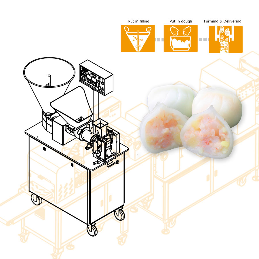 Automatic Har Gow Making Machine  - ANKO