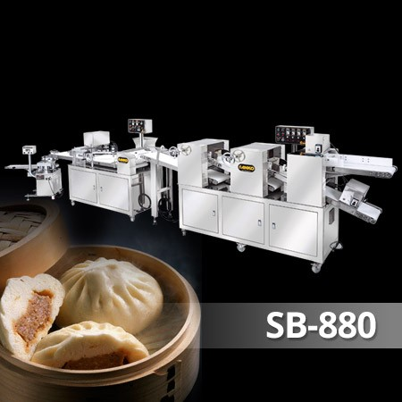 Steamed Bun Industrial Production Line