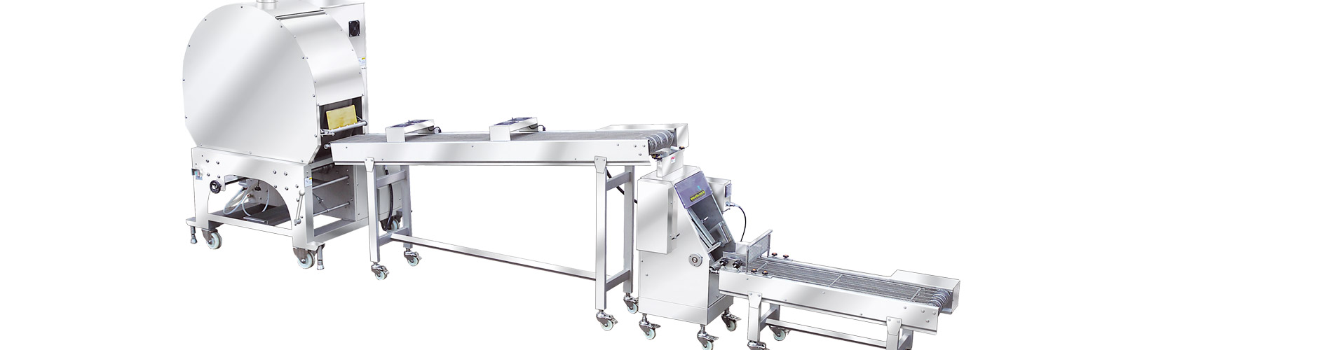SRP    Spring Roll &    Samosa Pasta    Avtomatik Yay Roll & Samosa Pasta Sheet Making Machine