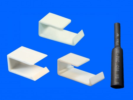 Kunststoff-Transistorklemme