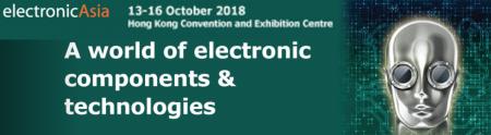 2018 10 / 13-10 / 16 ElectronicaAsis