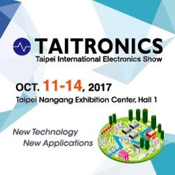 2017 TAITRONICS Taipei