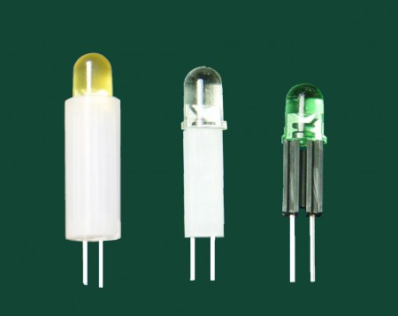 Ø5, 2 pin Cylinder LED Holder