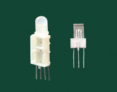Ø5, 4 pin Quadrate LED Holder