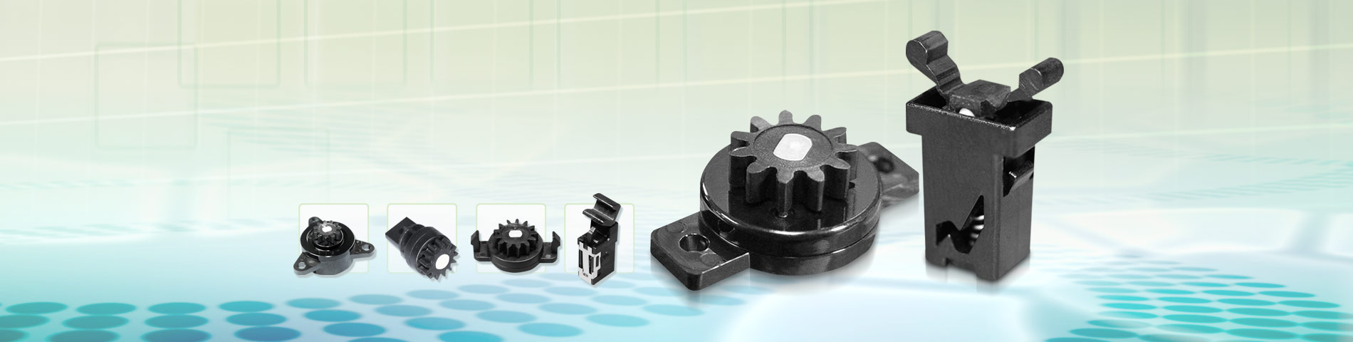 Rotary Damper & Push Latch The best plastic parts you've ever seen