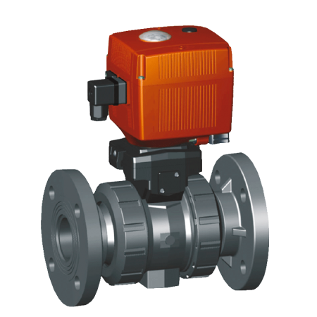Electrically Actuated Ball Valve