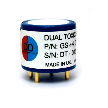 Industrial Dual Toxic Gas (CO and H2S) Sensor