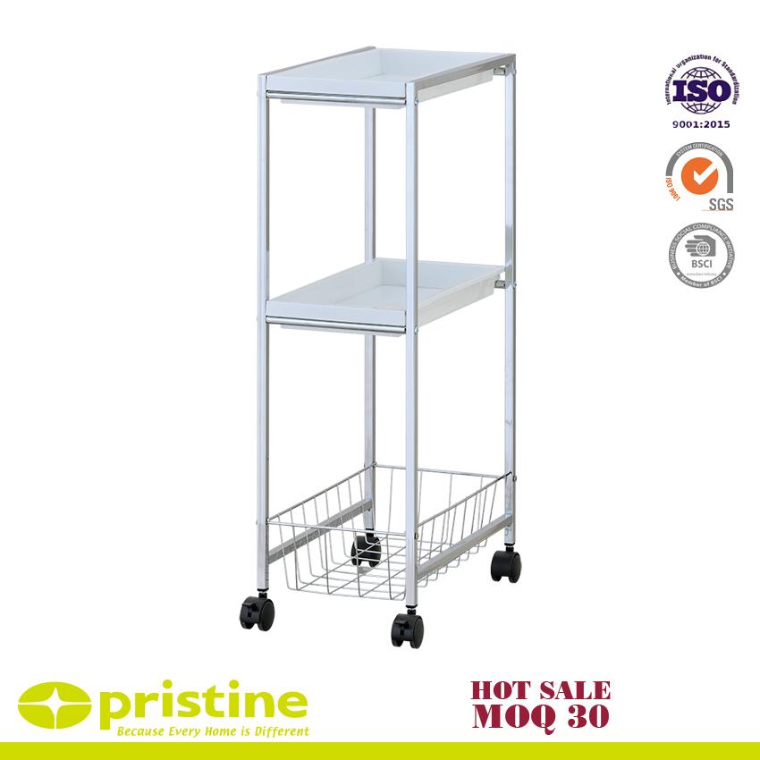 2-PP Tray Trolley mit 1-Draht Baseket | Metallmöbelhersteller - Huei ...