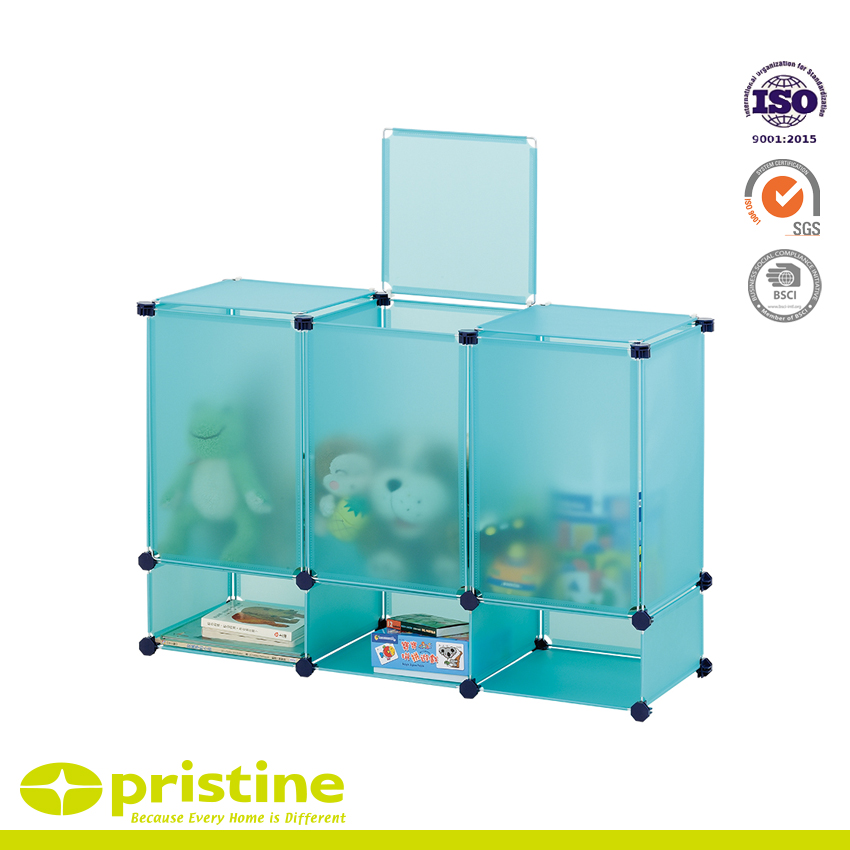 DIY Storage Cube Plastic Organizer For Toy Storage Solution | Metal ...